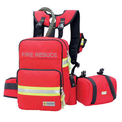 Fireman Back Pack, Self Assemble System